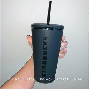 Starbucks Other - ✨NEW RARE✨ Starbucks Matte Black Grande Cup